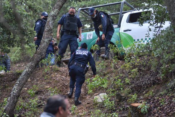 POLICÍA AMBIENTAL DE GUANAJUATO DETIENE A HOMBRE POR TALA ILEGAL EN LA SIERRA DE SANTA ROSA.